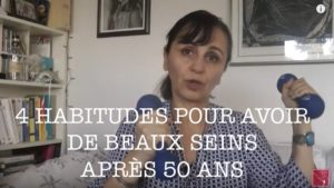 4 habitudes pour avoir de beaux seins après 50 ans